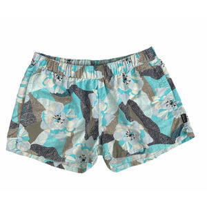 Patagonia Barely Baggies Shorts in Hibiscus Field